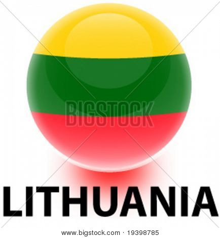 Orb Lithuania Flag