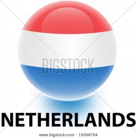 Orb Netherlands Flag