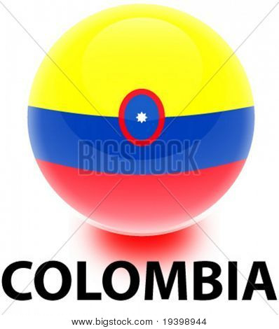 Orb Colombia Flag