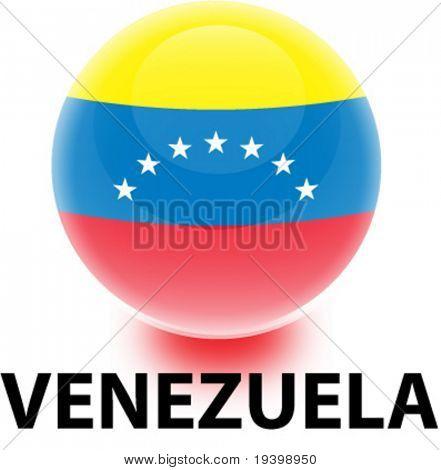 Bandeira de Venezuela Orb