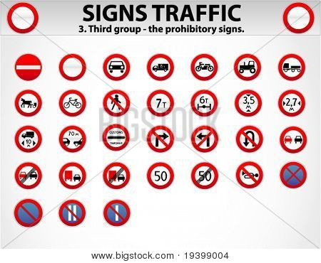 Signs Traffic Part Three