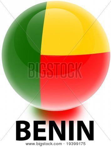 Flag Benin Orb