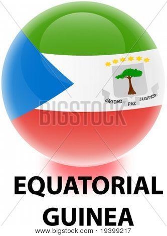 Flag Equatorial Guinea Orb