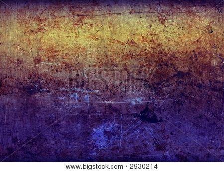 Folha de Metal oxidado 2 Gel-acesa