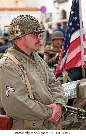 US-amerikanischer Soldat