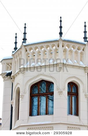 Home Built  In Eclectic Style (detail) By The Architector Shekhtel