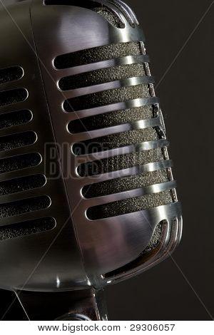 close up of mic.