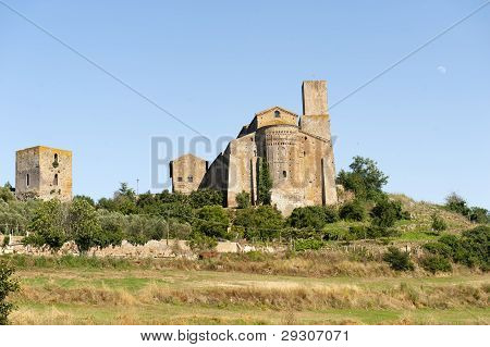 San Pietro Church In Tuscania