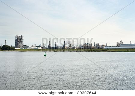 Chemical Industries Near River