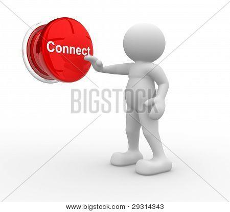 "Button "" Connect """