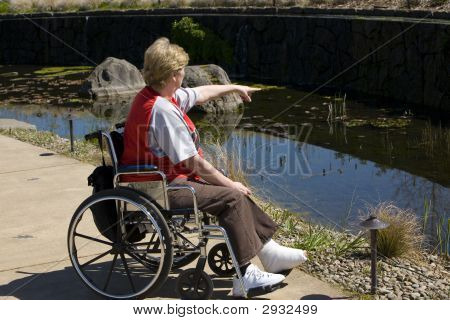 Wheelchair Time At The Park