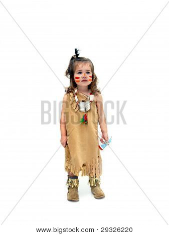 Indian Child Dressup