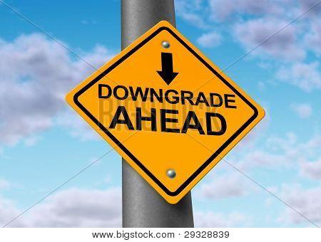 Downgrade Of A Company Symbol