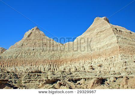 Escarpment Wall In The Badlands