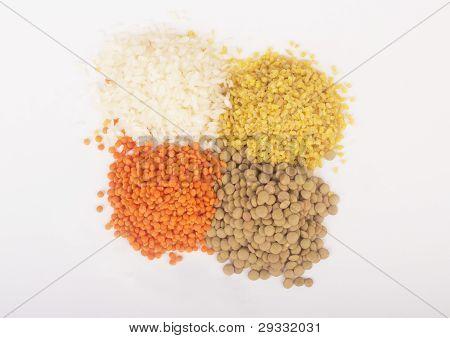 Leguminous seeds