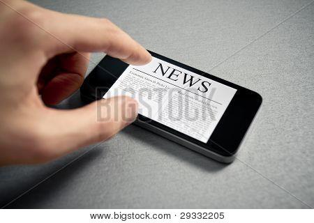 Nachrichten zum Thema mobile Smartphone berühren