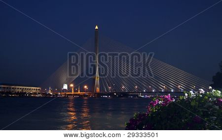 Bangkok Rama VIII bridge
