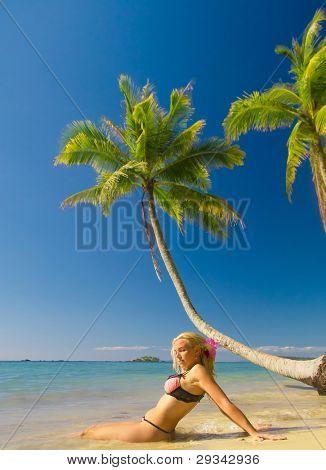 Hot Blonde Exotic Hideaway