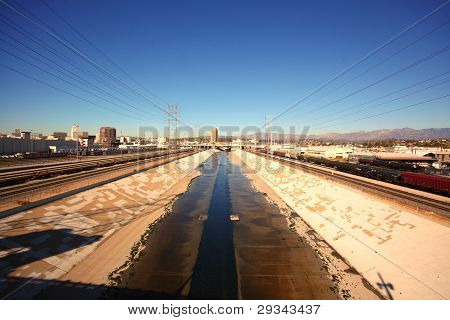 LA River, Wide