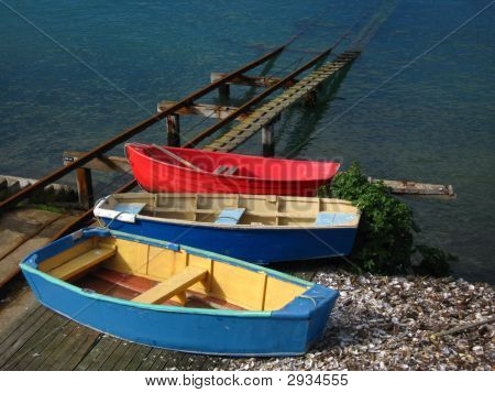Colored Boats