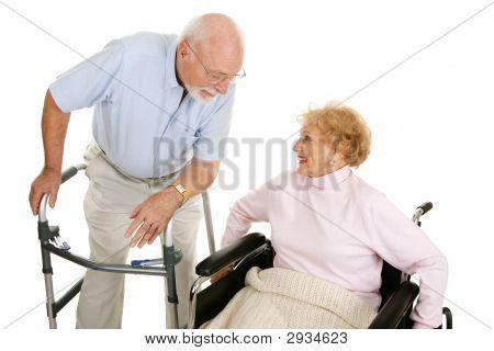 Senior Ladies Man