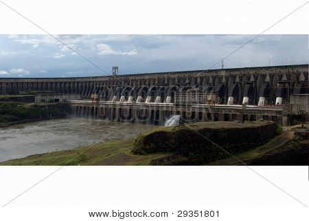 Itaipu biggest hydroelectric plant of the world