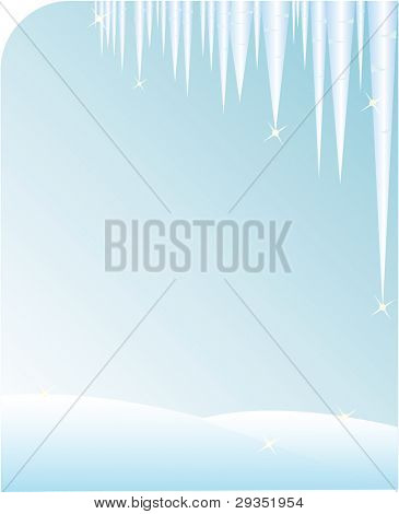 icicle background