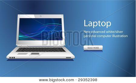 website slider with notebook icon