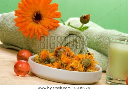 Calendula Spa Set