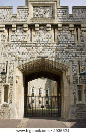 Gate At Windsor Castle