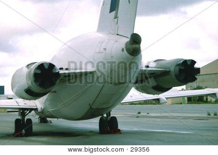 Aircraft Rear