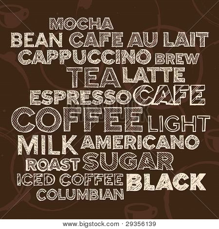 Coffee Text Elements