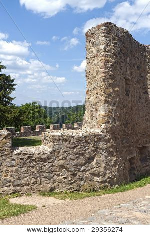 Part Of Old Castle Ruin