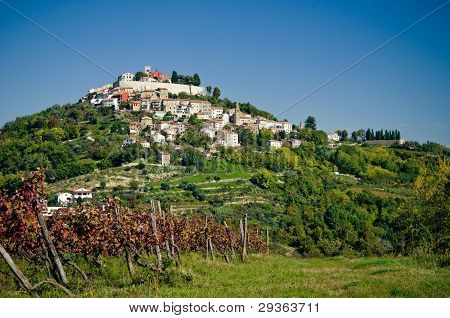 Motovun In Croatia