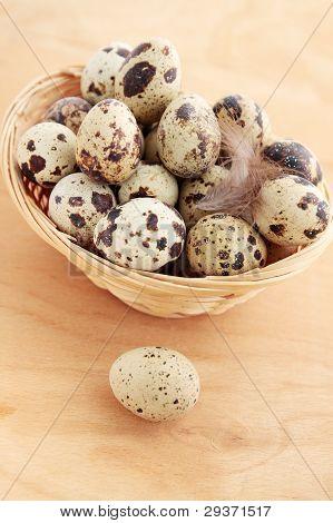 Huevos en la cesta