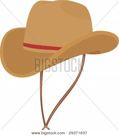 Hat of the cowboy