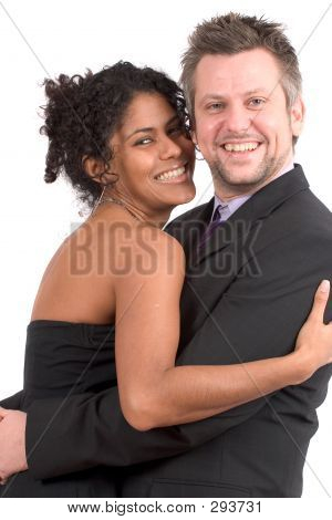 Lovely Diverse Couple