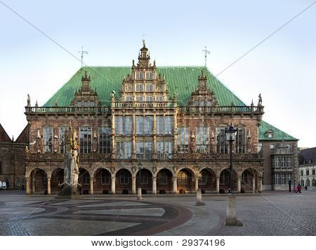 town hall of the Free and Hanseatic City of Bremen, Germany