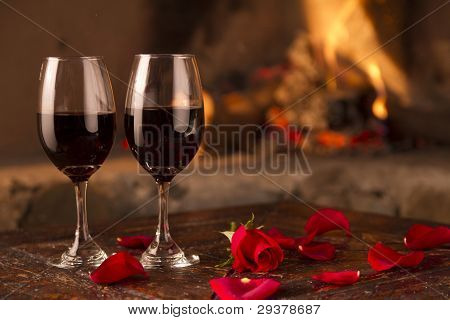 Wine, Roses And Fire