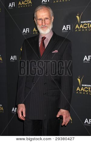 LOS ANGELES - JAN 27:  James Cromwell arrives at the AUSTRALIAN ACADEMY INTERNATIONAL AWARDS at Soho House on January 27, 2012 in West Hollywood, CA