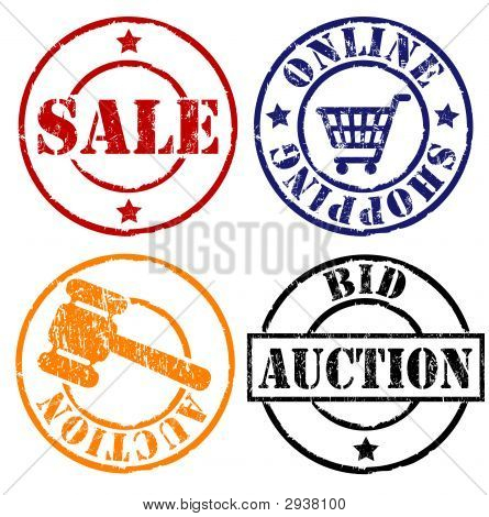 Sale Rubber Stamps