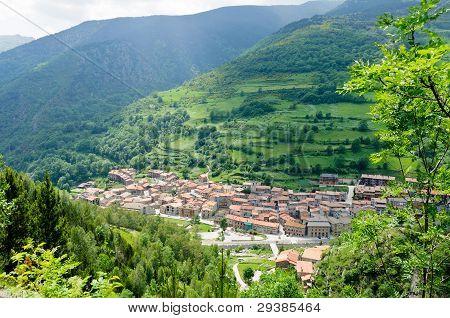 Mountain Village, El Serrat, Spain