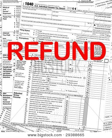 U.S. Individual Income Tax Return Refund
