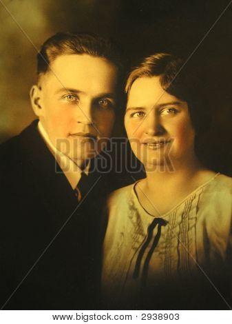 Vintage Family Photo 1928