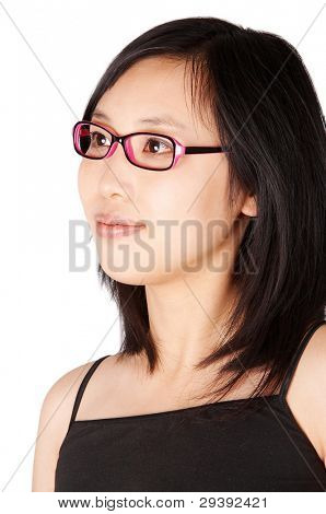 asian college student portrait.