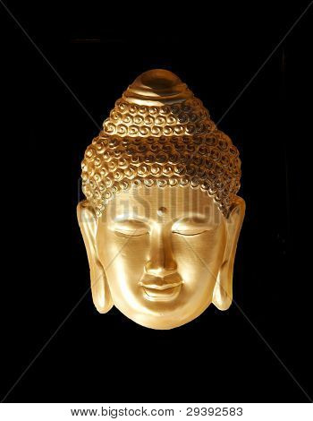 golden figure of Buddha