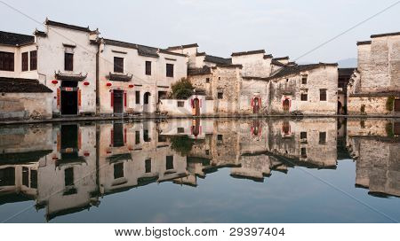 Hongcun, ancient village in China