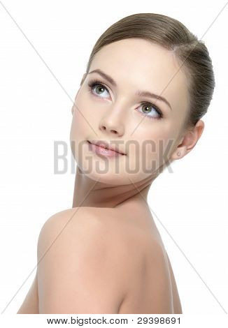 Clean Skin Of Woman