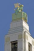 Otto Wagner Church, Vienna poster
