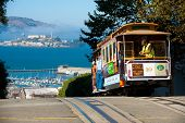 stock photo of alcatraz  - San Francisco USA  - JPG